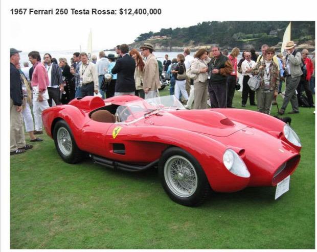 A világ érdekes aukció árverés autó legdrágább