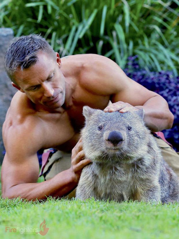 A világ érdekes naptár ausztrál tűzoltó állat
