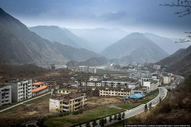 A világ érdekes Kína Szecsuán Pejcsuán földrengés