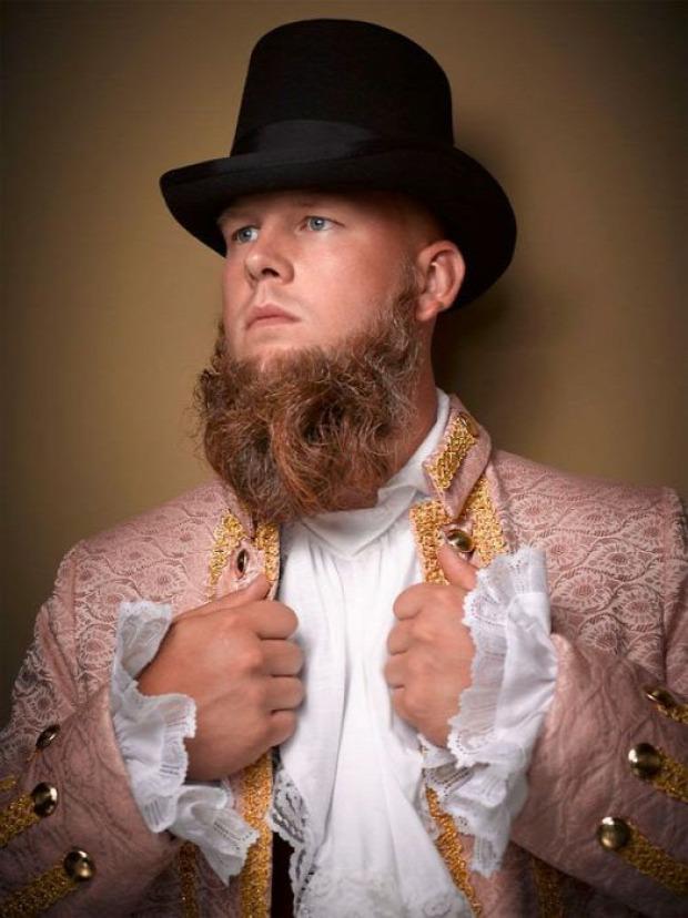 Nashville bajusz szakáll bajnokság nemzeti