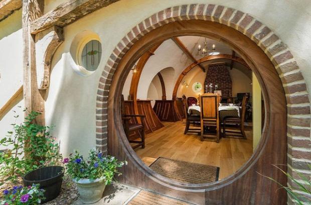 A világ érdekes szálloda hotel hobbit lyuk Gyűrűk ura