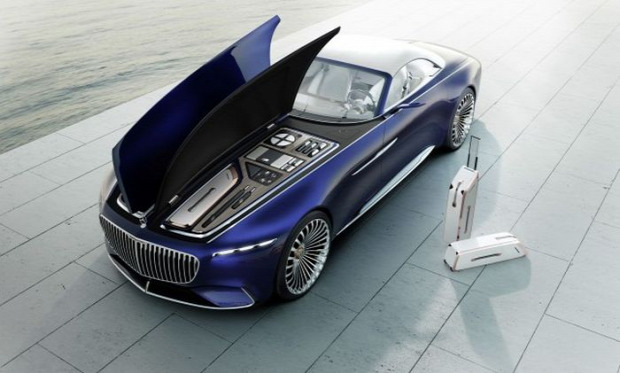 A világ érdekes Mercedes Maybach cabriolet 6