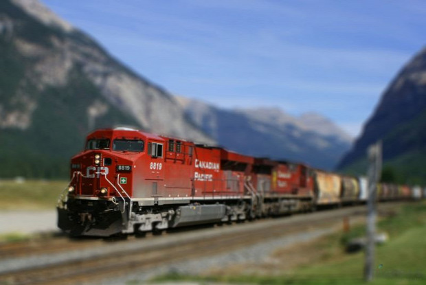 A világ érdekes vasút Kanada