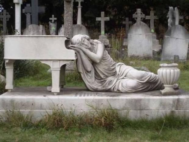 A világ érdekes temető sír síremlék sírkő