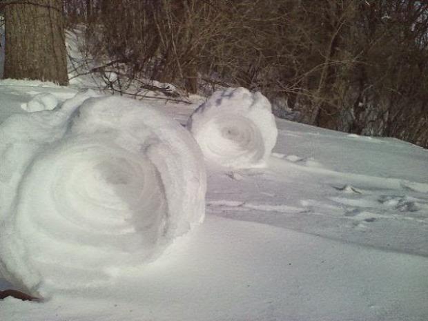 A világ érdekes tél hó jég zúzmara