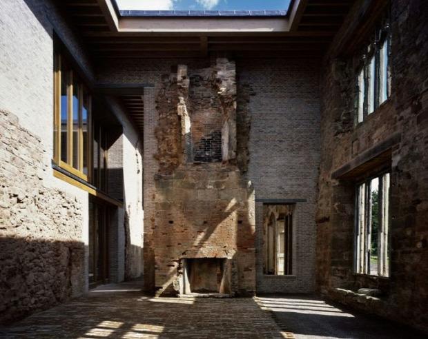 A világ érdekes kastély rom fal lakás