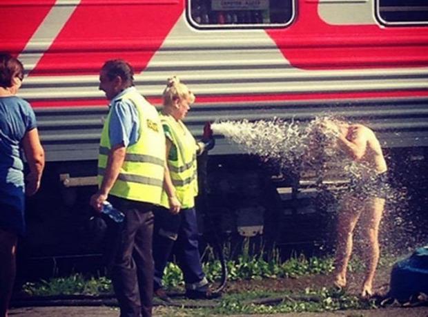 A világ érdekes Oroszország vonat hosszú utazás