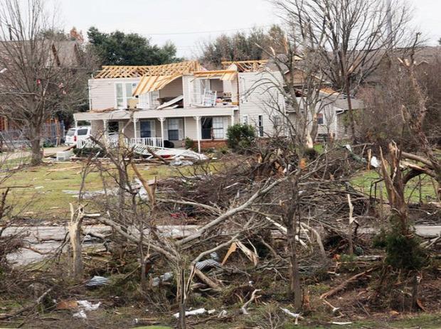 A világ érdekes Texas hurrikán túlélő