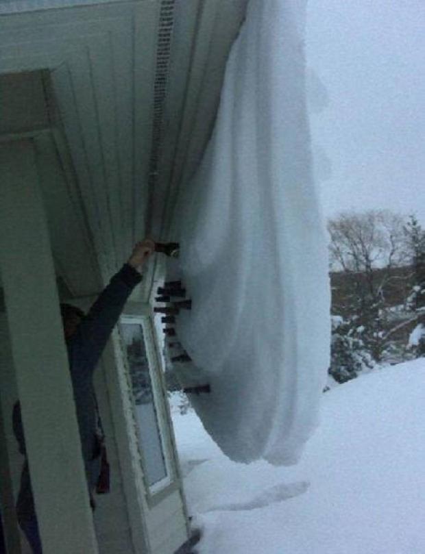 A világ érdekes tél jég hó Kanada