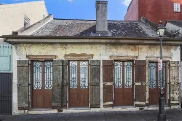 A világ érdekes New Orleans romos  roskadozó viskó