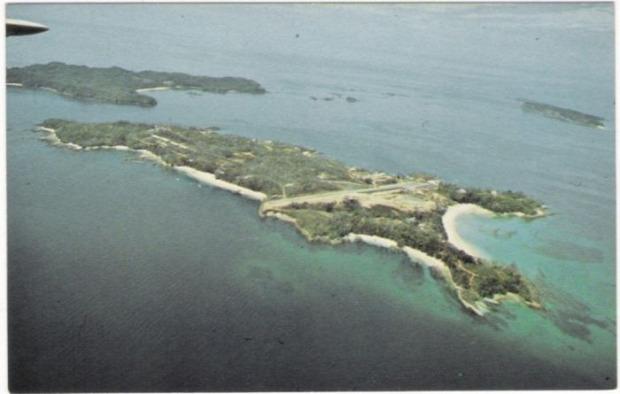 A világ érdekes Panama Contadora sziget elhagyott