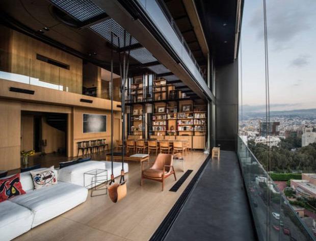 A világ érdekes ház lakás nyitott