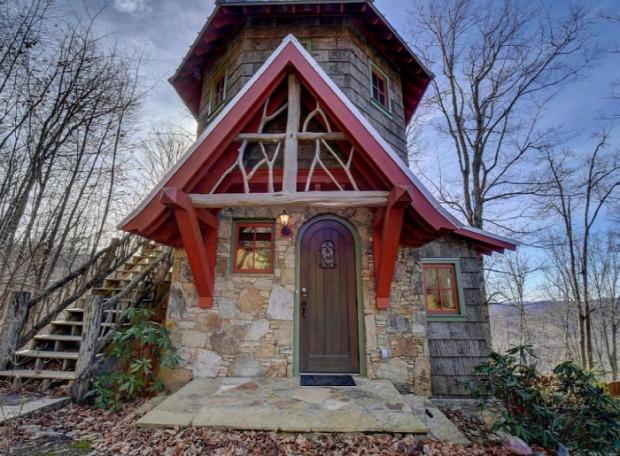 A világ érdekes ház mese erdei
