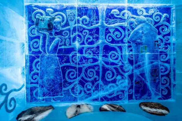 A világ érdekes svédország jéghotel Icehotel 365 egész évben Lappföld