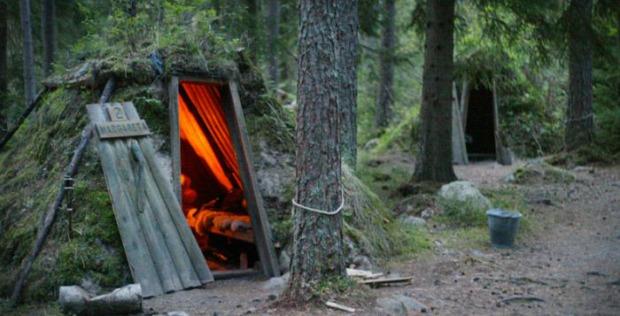 A világ érdekes svéd vendégház vakáció öko