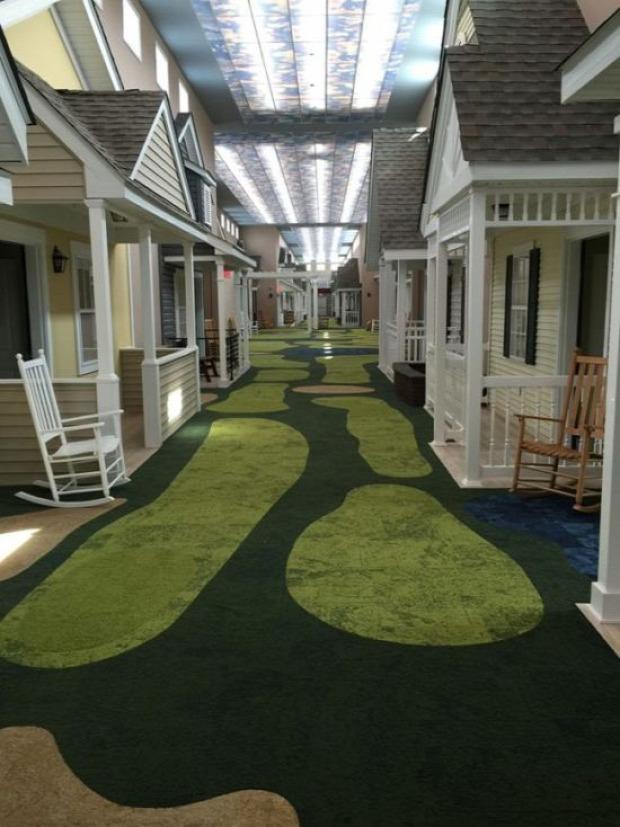 A világ érdekes idősek otthona dizájn