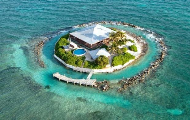 A világ érdekes sziget magán