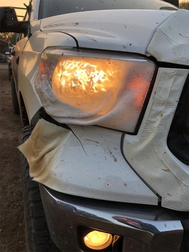 A világ érdekes Kalifornia tűzvész mentő autó toyota