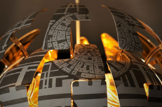 Kütyülógia SW Star Wars Death Star Halálcsillag lámpa IKEA