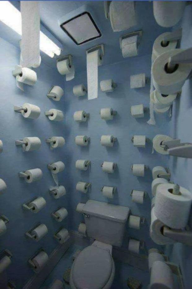 wc vécé ijesztő rémisztő