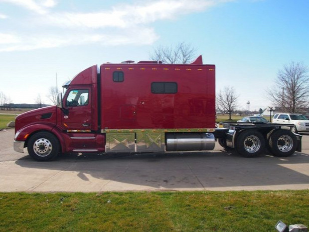 A világ érdekes kamion tréler lakófülke