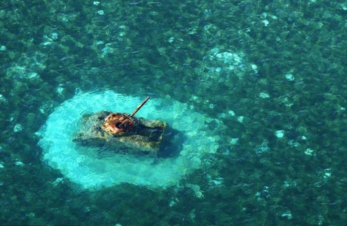 A világ érdekes Csendes-óceán szigetek II. világháború katonai