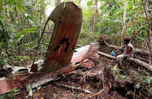 A világ érdekes Csendes-óceán szigetek II. világháború katonai roncs