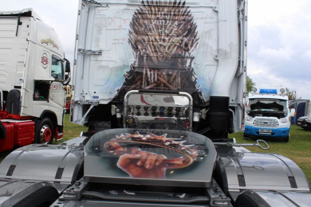 A világ érdekes kamion festés Airbrush