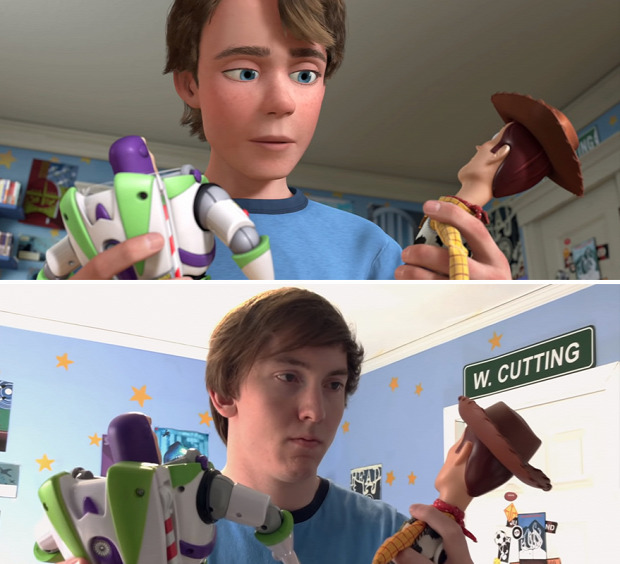 Toy Story bábfilm rajongói Step Motion