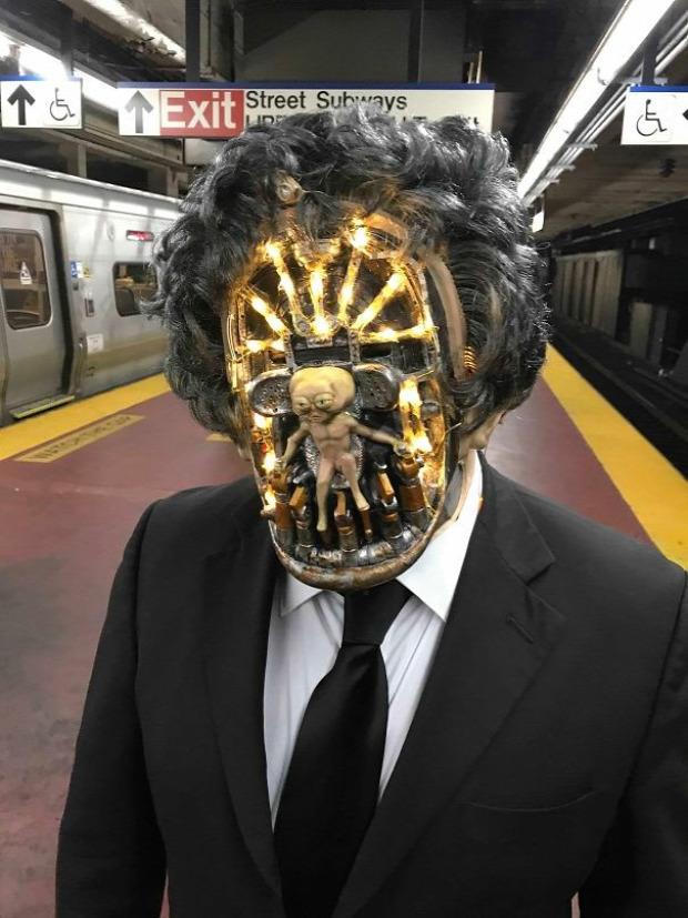 A világ érdekes jelmez buli Halloween