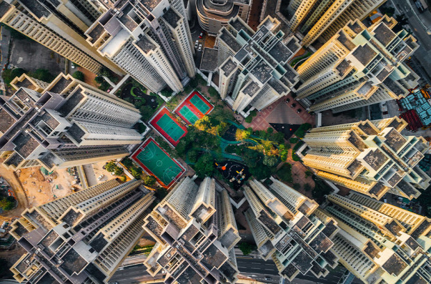 A világ érdekes Hongkong hely