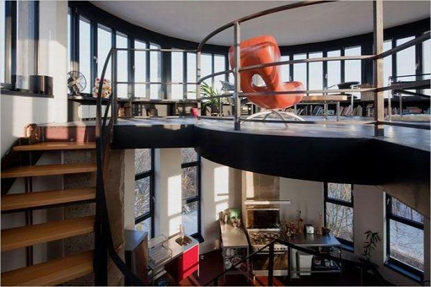 A világ érdekes víztorony lakás
