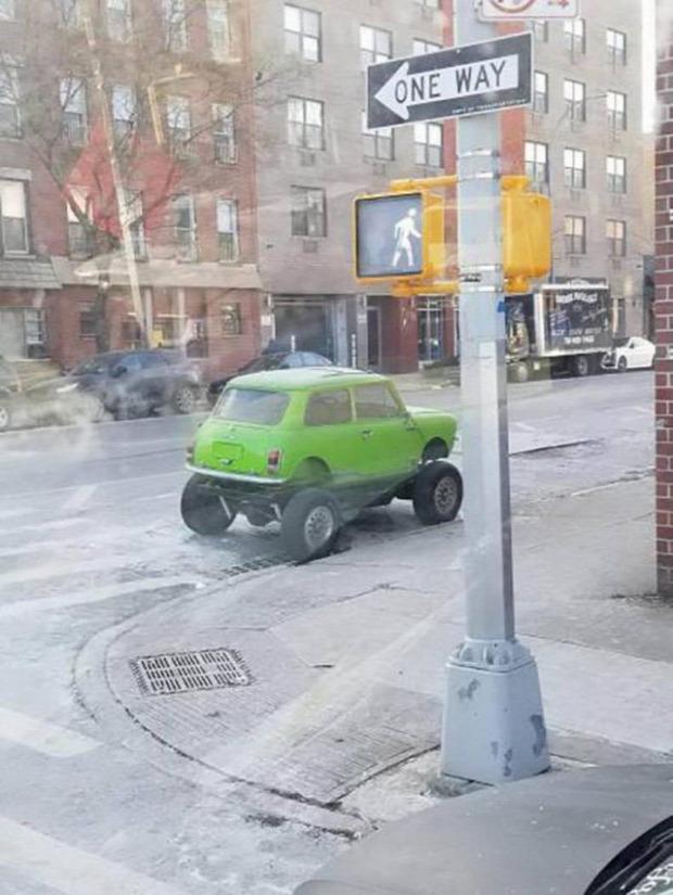 autó kocsi furcsa dizájn különös