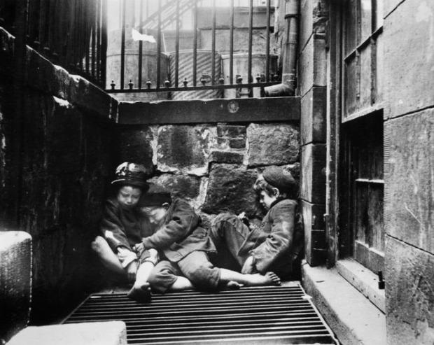 A világ érdekes New York 1870 nyomor szegénynegyed nyomornegyed