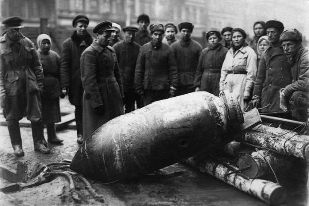 A világ érdekes háború lövedék bomba