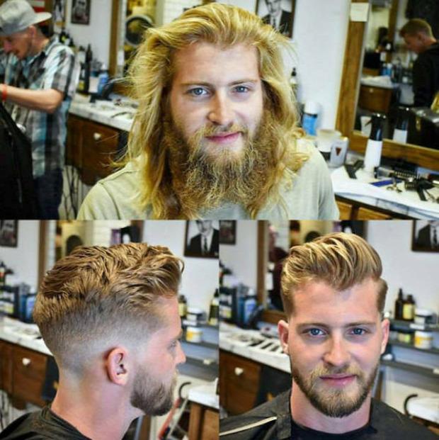 A világ érdekes fodrász borbély frizura