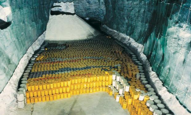 A világ érdekes nukleáris hulladék lerakó tárolás