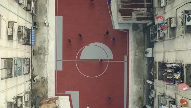 A világ érdekes Bangkok foci futball szokatlan szabálytalan forma