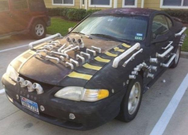 A világ érdekes autó kocsi tuning átépítés furcsa extrém