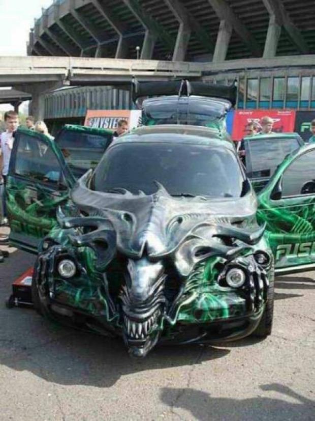 Isten állatkertje autó kocsi extrém furcsa