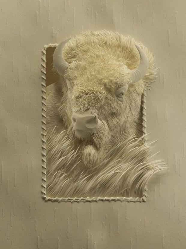 A világ érdekes kép 3D papír
