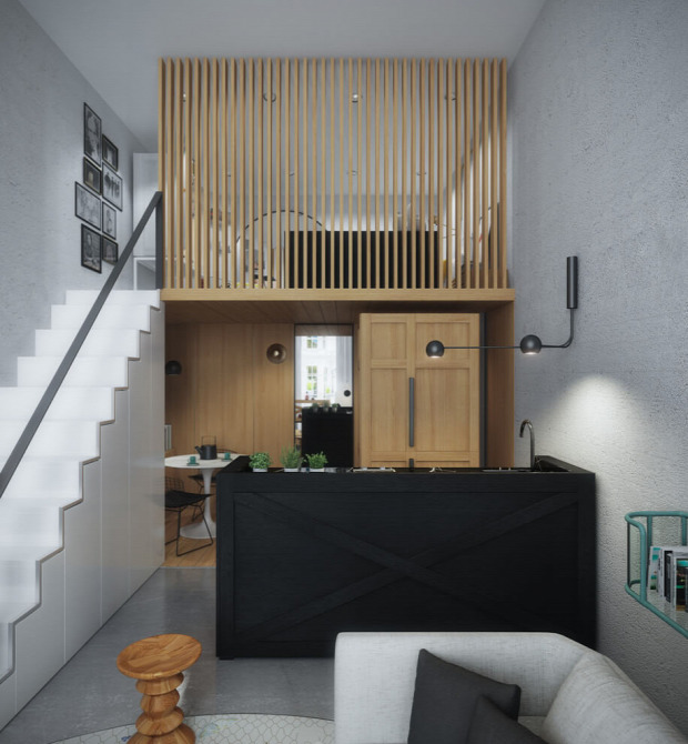 kis lakás galéria japán stílus