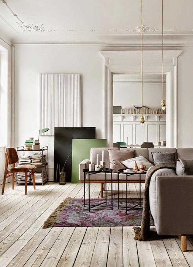 pezsgőszín színek otthonos inspiráció lakberendezés