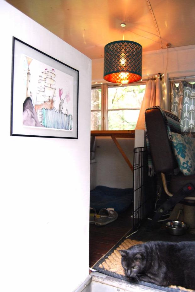 kis otthon mobilház kreatív kialakítás helykihasználás
