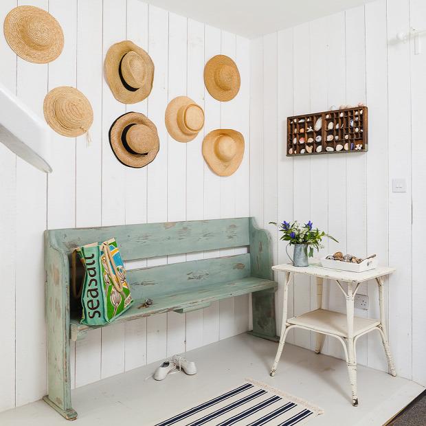 felújítás nyaraló skandináv stílus tengerpart vintage