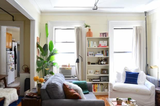 kis lakás kis terek alkóv étkező nagyvilág egyedi stílusos garzon