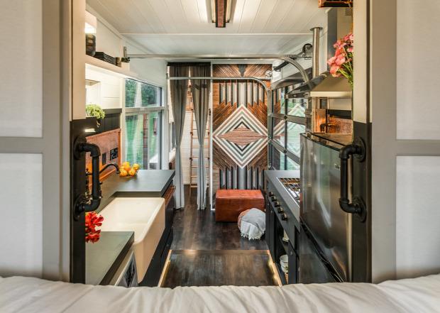 kis lakás mobilotthon luxus helykihasználás