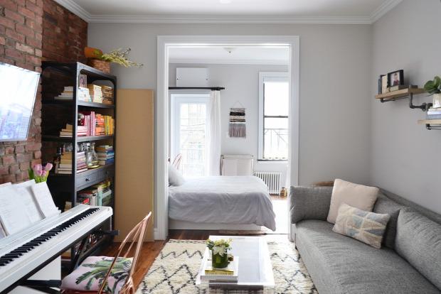 kis lakás kis terek stúdió garzon nagyvilág helykihasználás kreatív otthonos