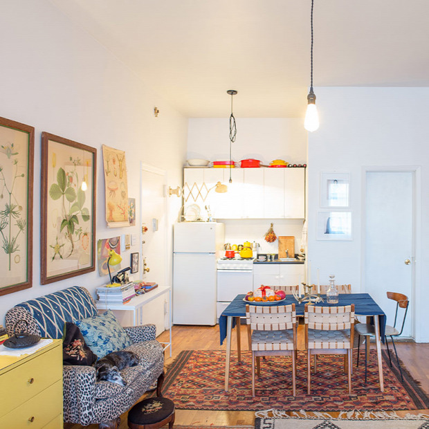 kis lakás kis terek kreatív inspiráció garzon