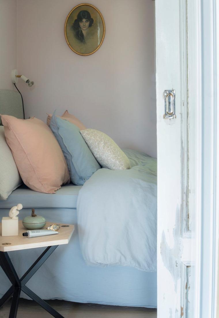 kis lakás kis terek faház skandináv stílus